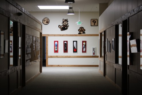 Mario mural at Neversoft